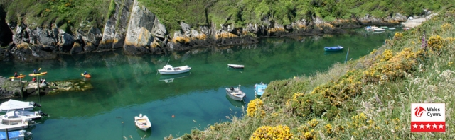 Solva from the Pembrokeshire Coast Path