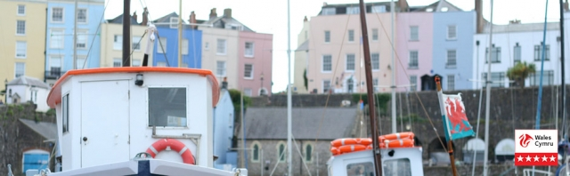 Tenby Harbour famous and pretty as ever