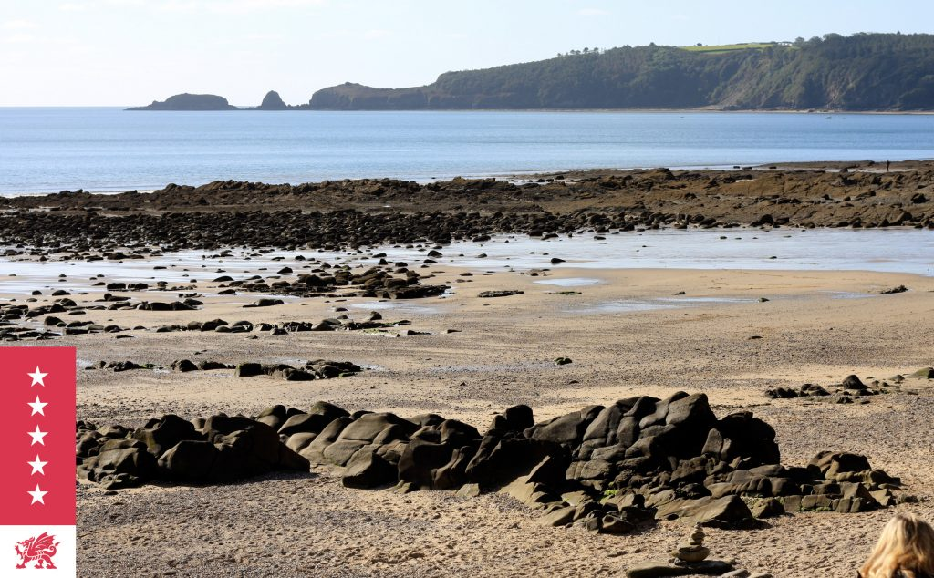 View of Monkstone Point between Saundersfoot & Tenby