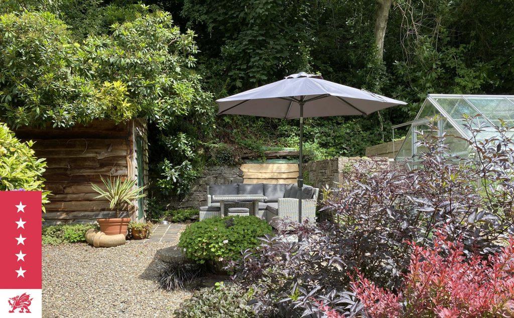 Sunny corner of the garden